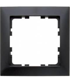 Ramka B.Kwadrat 1-krotna antracyt, mat 5310118996