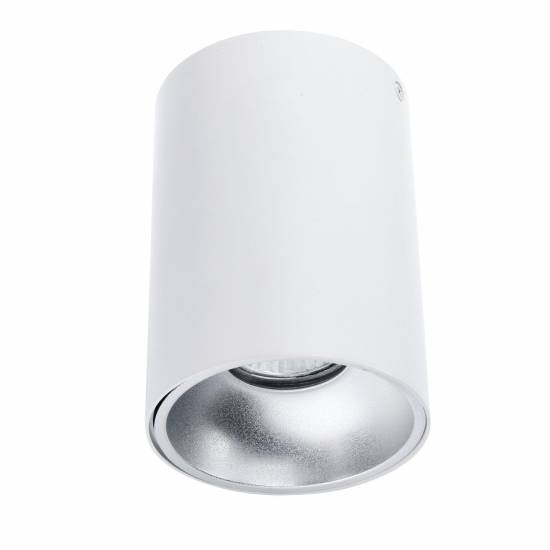 Plafon NERO biały/srebrny 1L
