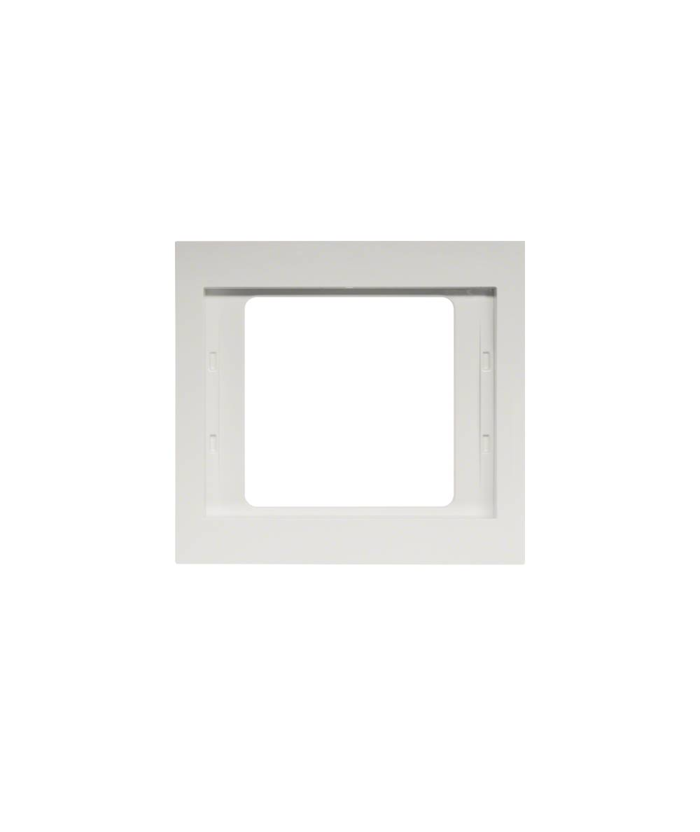 Ramka Berker K.1 1-krotna biała, połysk 13137009