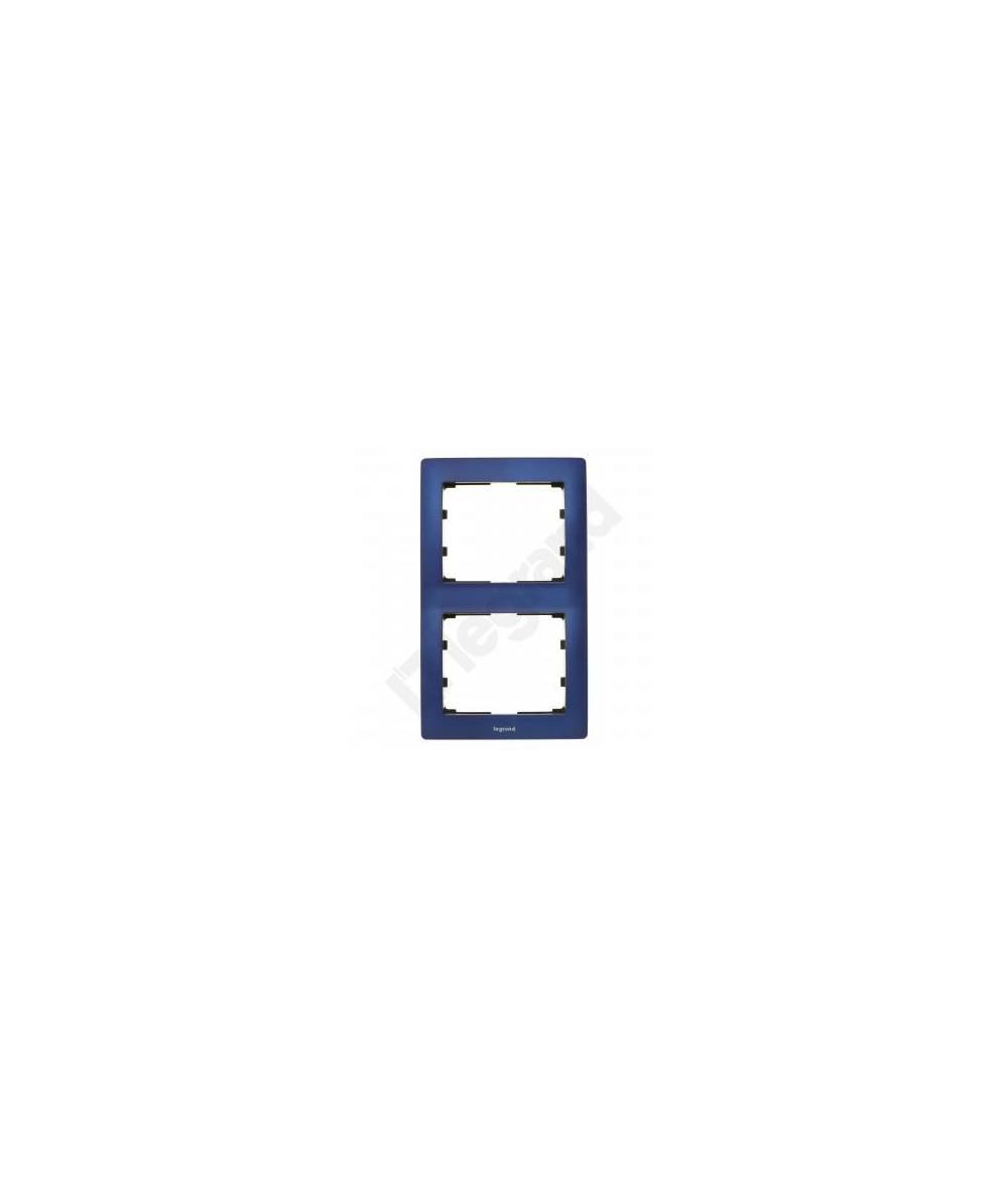 SISTENA LIFE Ramka MAGIC BLUE podwójna pionowa 771916