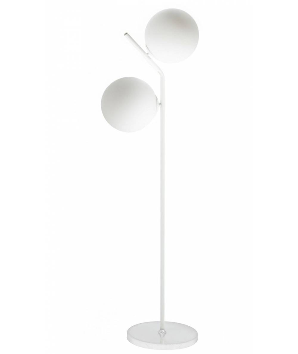 Lampa podłogowa LAND LP 2pł Bia