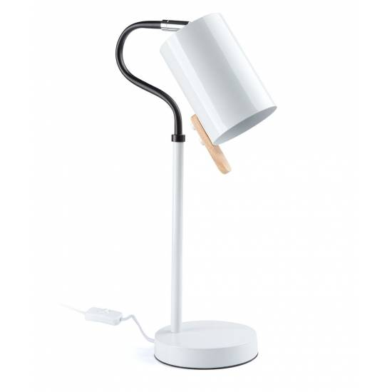 Lampa stołowa ELSA 1L WH