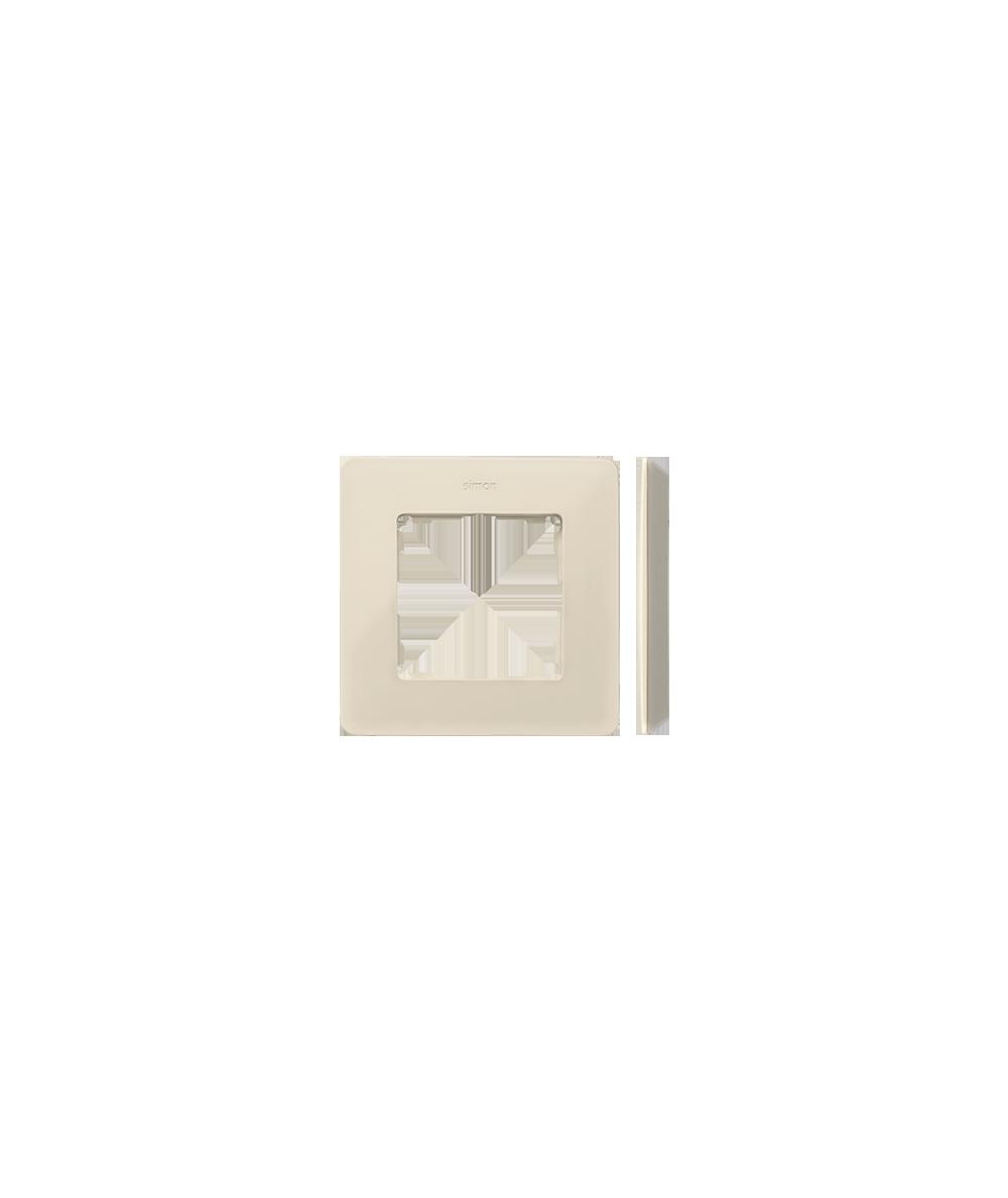 Simon 82 Detail ORIGINAL  Ramka 1- krotna kremowy  8200610-031