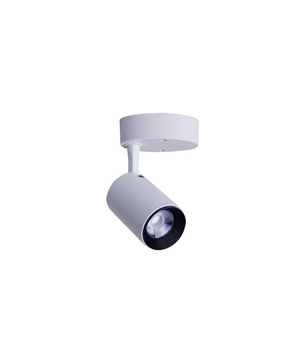 Nowodvorski - Lampa reflektor IRIS LED BLACK 7W biały ciepły - 8993