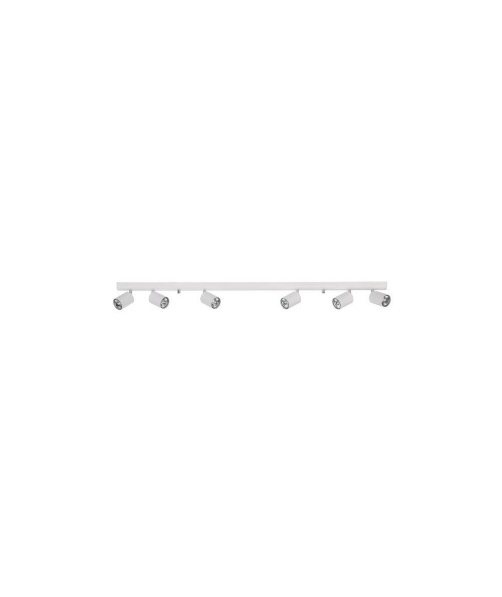 Nowodvorski - listwa sufitowa/ kinkiet EYE SPOT VI biały - 6607