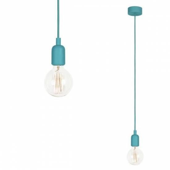 Nowodvorski - lampa wisząca SILICONE TURQUOISE 90cm - 6400