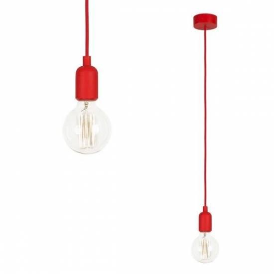 Nowodvorski - lampa wisząca SILICONE RED 90cm - 6401