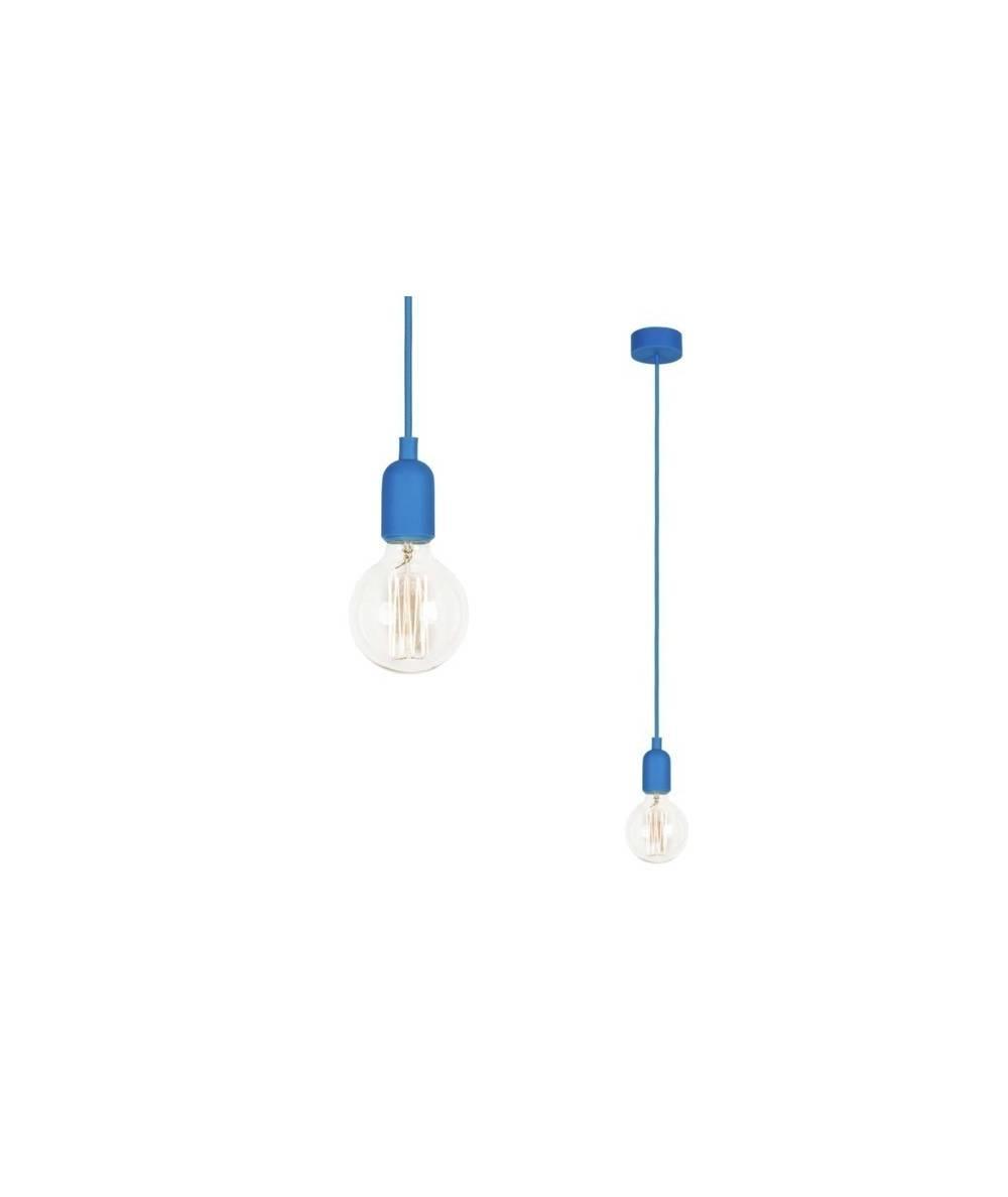 Nowodvorski - lampa wisząca SILICONE BLUE 90cm - 6402