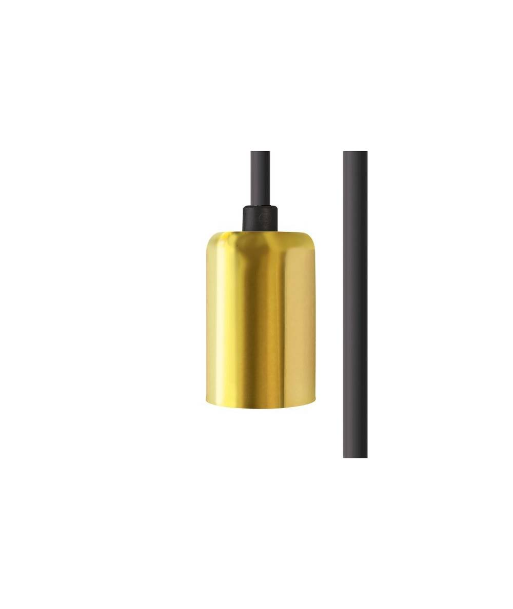Nowodvorski - CAMELEON CABLE E27 1,5 M BLACK/BRASS CZARNY/ MOSIĄDZ - 8666