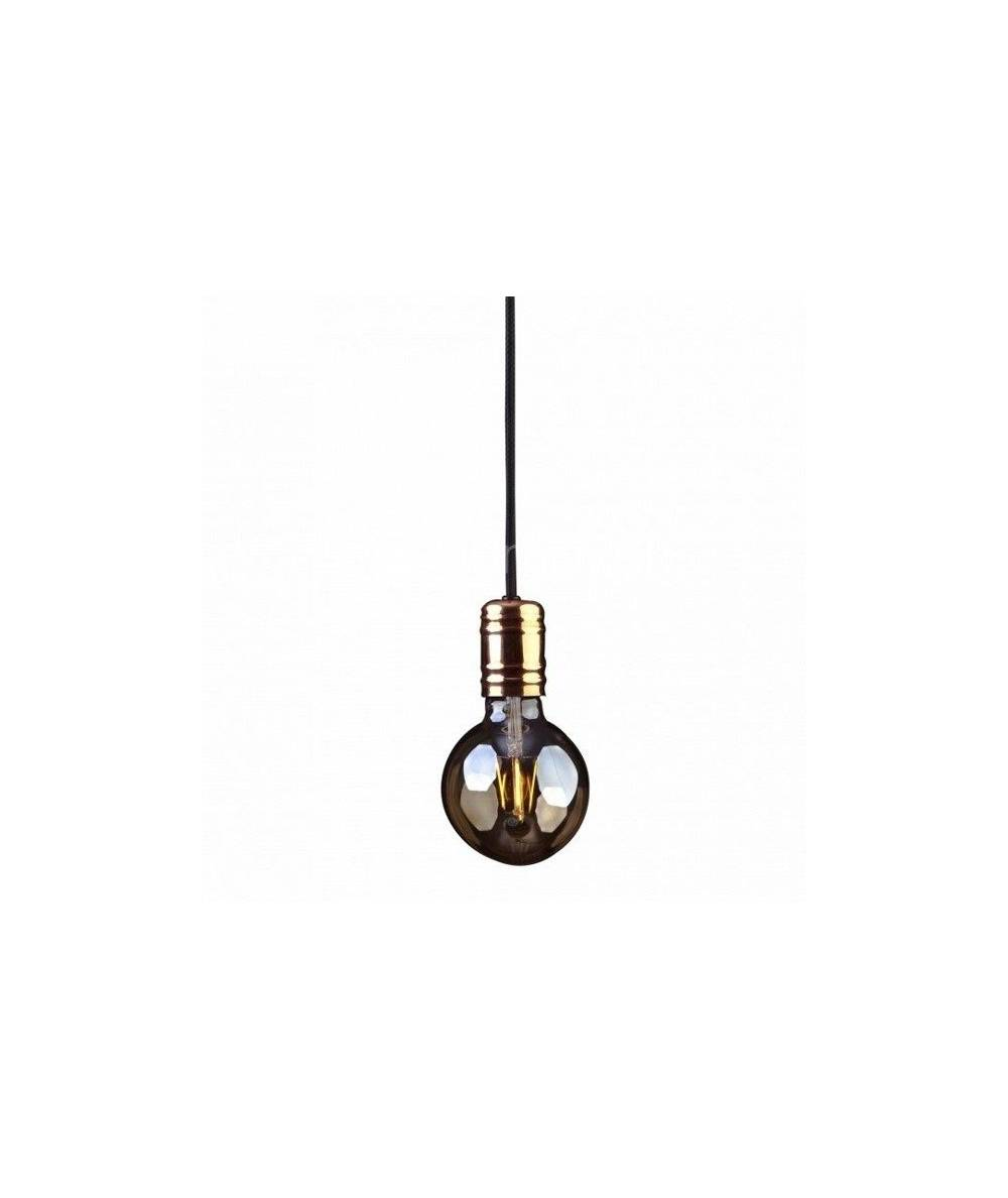 Nowodvorski - retro zwis miedź CABLE BLACK / COPPER - 9747