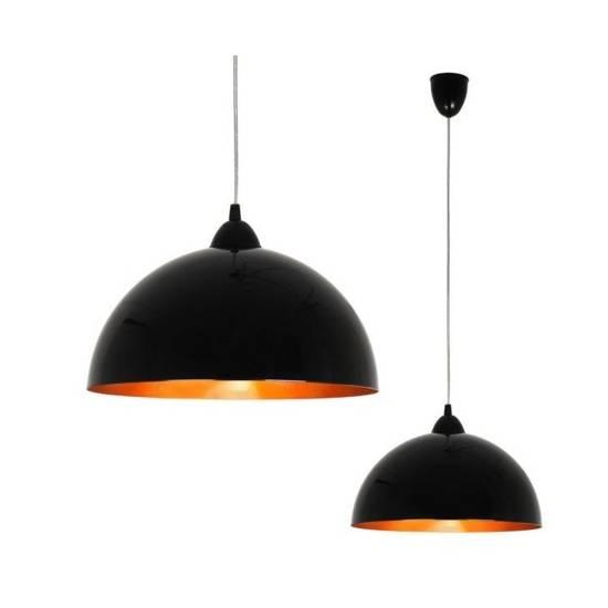 Nowodvorski - lampa HEMISPHERE black-gold S - 4840