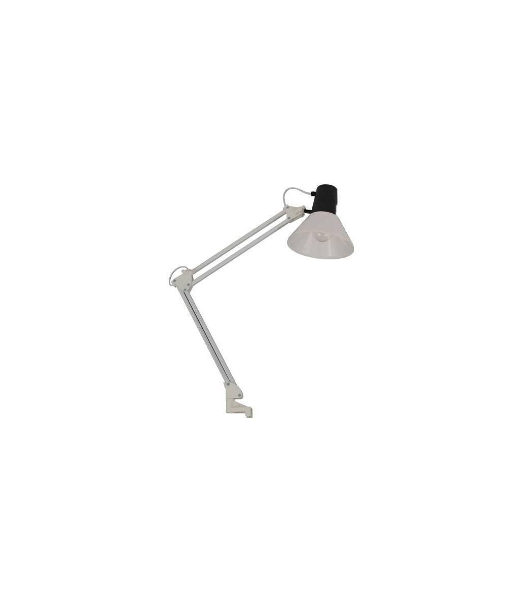 Nowodvorski - lampa z zaciskiem STUDENT WHITE - 002/00