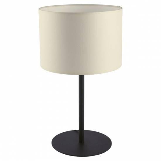 Nowodvorski - lampa stołowa ALICE ecru/ czarny - 9085