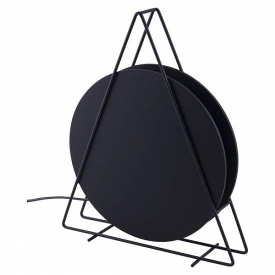 Nowodvorski - lampa podłogowa WHEEL czarny - 9036