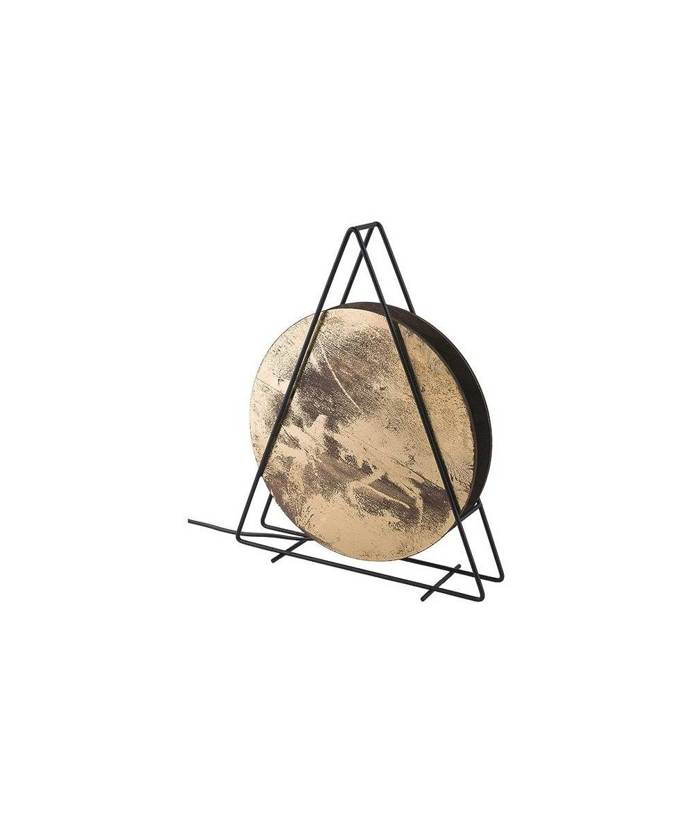 Nowodvorski - lampa podłogowa WHEEL złoty - 9032