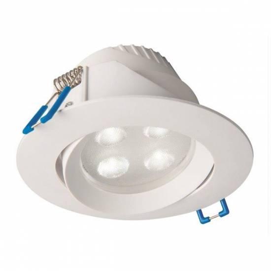 Nowodvorski - Oczko oprawa sufitowa ruchoma EOL LED 5W biały CIEPŁY - 8988