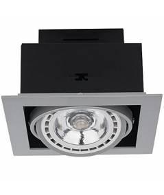 Nowodvorski - Lampa wpuszczana DOWNLIGHT SILVER ES111 - 9573