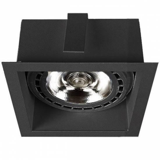 Nowodvorski - Lampa wpuszczana MOD BLACK - 9417