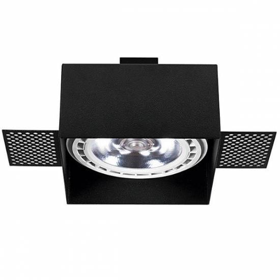 Nowodvorski - bezramowa lampa wpuszczana MOD PLUS BLACK - 9404