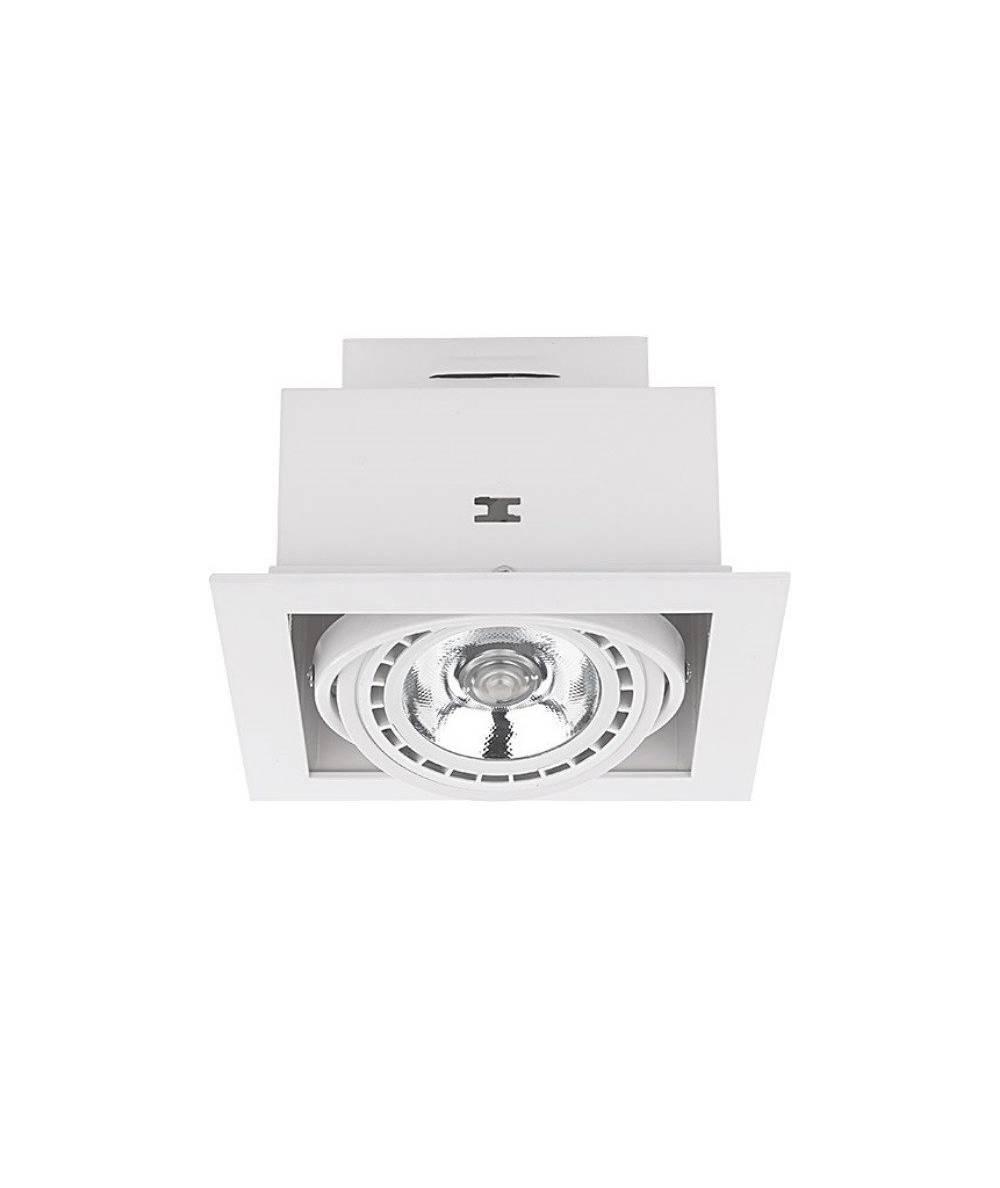 Nowovorski - Lampa wpuszczana DOWNLIGHT WHITE ES111 - 9575