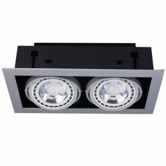 Nowodvorski - Lampa wpuszczana DOWNLIGHT SILVER ES111 - 9572