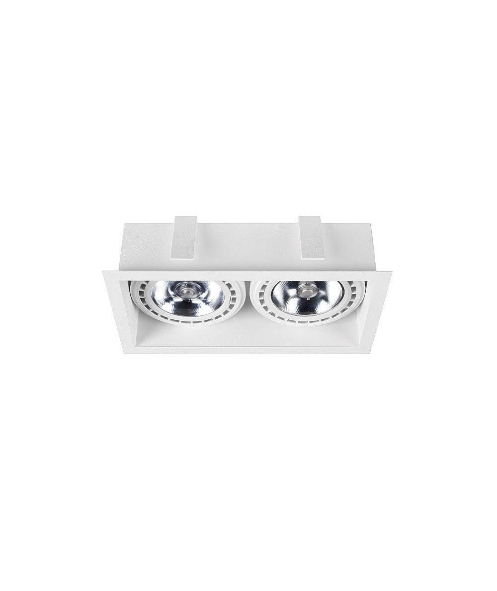 Nowodvorski - Lampa wpuszczana dwupunktowa MOD WHITE - 9412