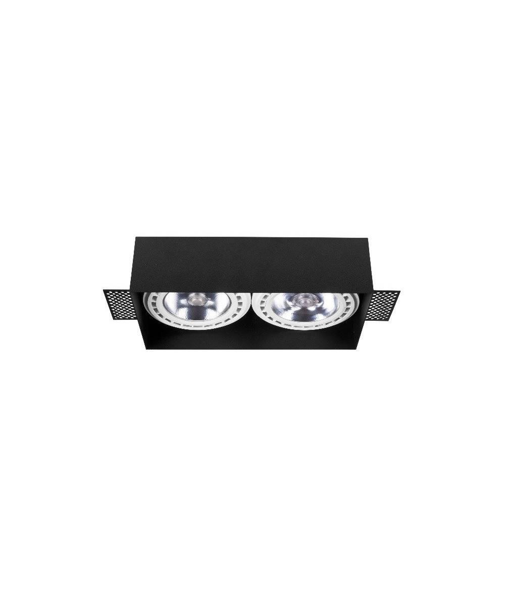 Nowodvorski - bezramkowa lampa wpuszczana MOD PLUS BLACK - 9403