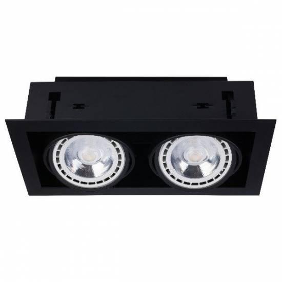 Nowodvorski - Lampa wpuszczana DOWNLIGHT ES111 BLACK - 9570