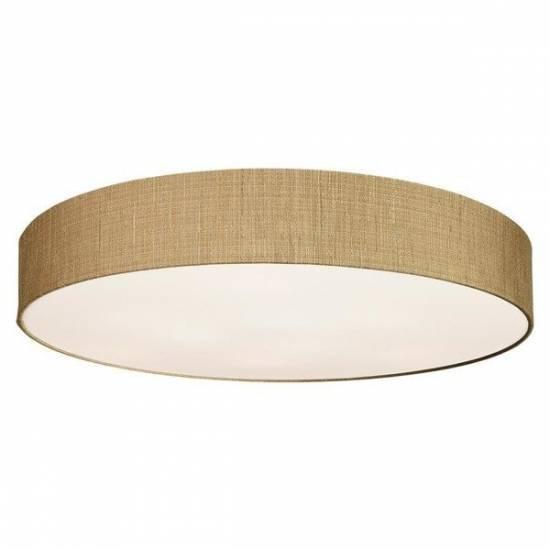 Nowodvorski - Lampa sufitowa/ plafon z abażurem TURDA VII złoty - 8802