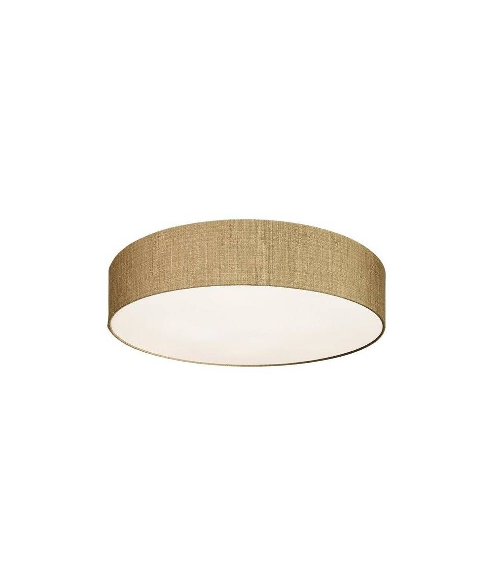 Nowodvorski - Lampa sufitowa/ plafon z abażurem TURDA IV złoty - 8955