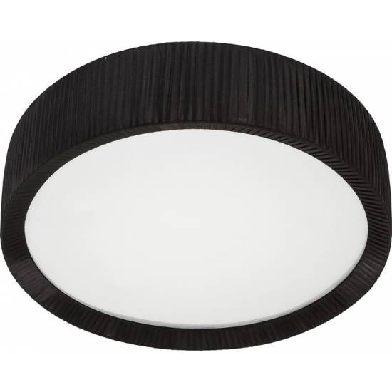 Nowodvorski - Lampa sufitowa / Plafon ALEHANDRO BLACK 70cm - 5350