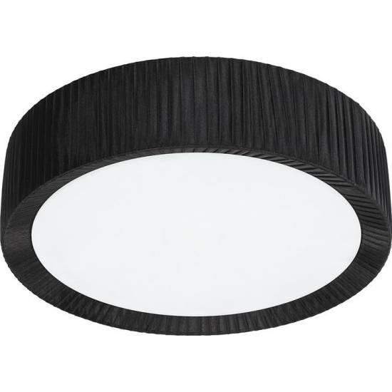 Nowodvorski - Lampa sufitowa / Plafon ALEHANDRO BLACK 45cm - 5348