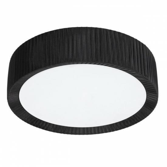 Nowodvorski - Lampa sufitowa / Plafon ALEHANDRO BLACK 35cm - 5347