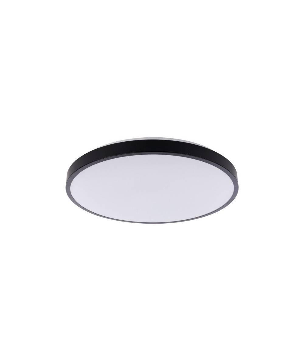 Nowodvorski - plafon AGNES ROUND LED 64W czarny śr. 64,2cm IP20 3000K - 8206