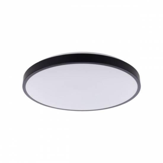 Nowdvorski - plafon AGNES ROUND LED 22W czarny śr. 38,5cm 3000K - 8204