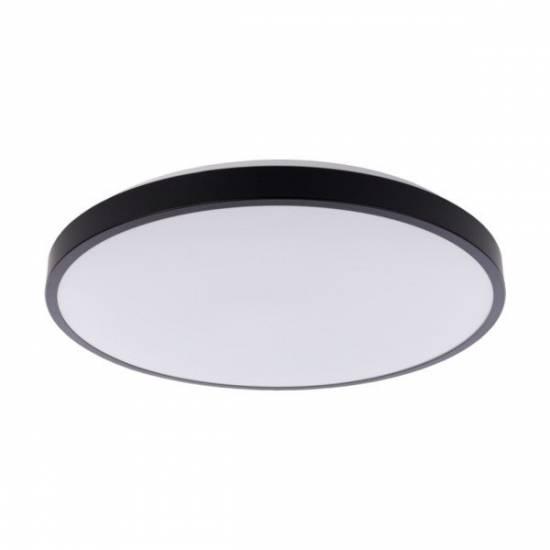 Nowodvorski - plafon AGNES ROUND LED 32W czarny śr. 48,5 cm IP20 4000K - 9163
