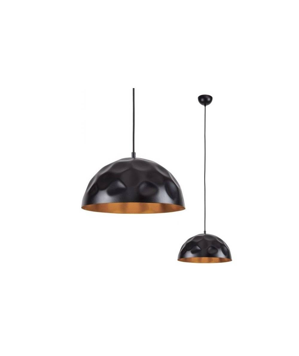 Nowodvorski - lampa wisząca HEMISPHERE HIT BLACK-GOLD 33,5cm - 6777