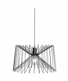 Nowodvorski -  lampa wisząca NESS BLACK 46cm - 6768