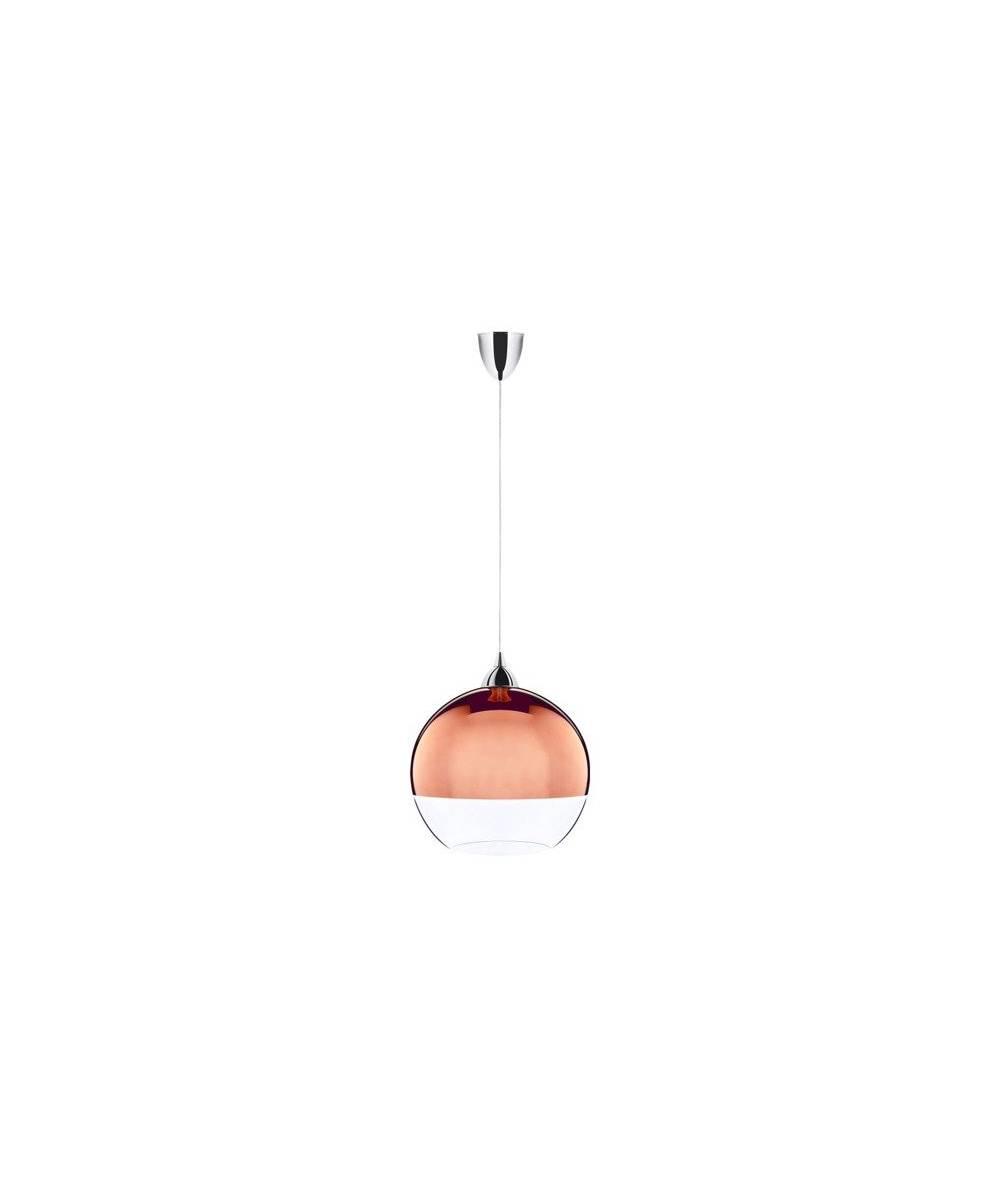 Nowodvorski - lampa wisząca GLOBE COPPER śr. 20 cm - 5763