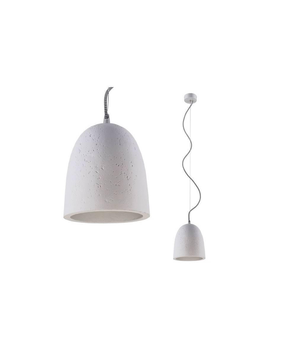 Nowodvorski - Gipsowa lampa GYPSUM śr.18cm - 6856