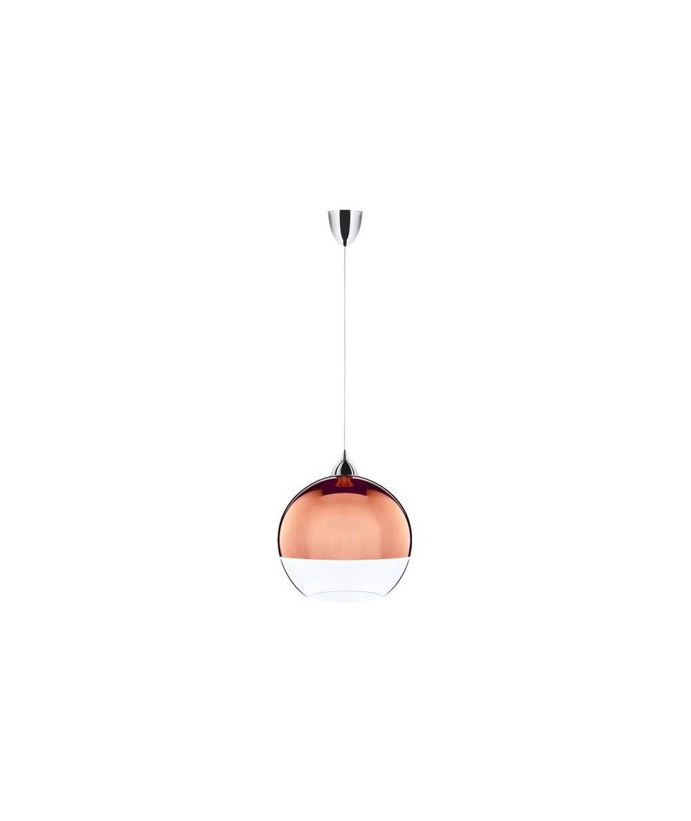 Nowodvorski - lampa wisząca GLOBE COPPER śr25cm  - 5764