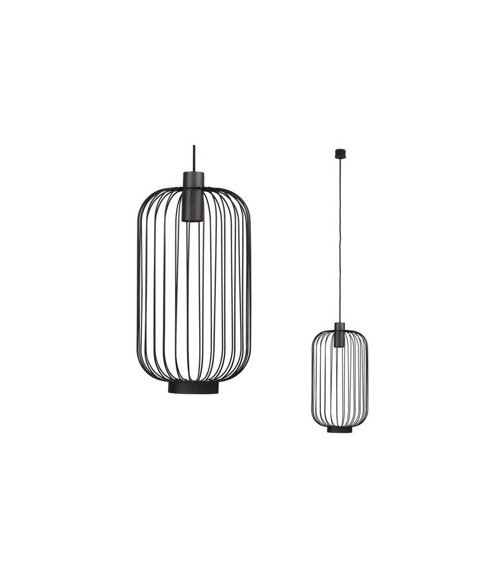 Nowodvorski - lampa wisząca CAGE BLACK - 6844