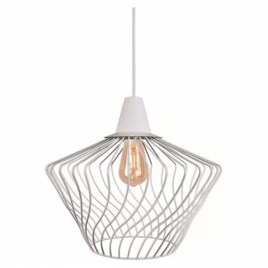 Nowodvorski - Lampa wisząca WAVE S biały śr. 40cm - 8860