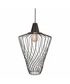Nowodvorski - Lampa wisząca WAVE L czarny śr. 40cm - 8856