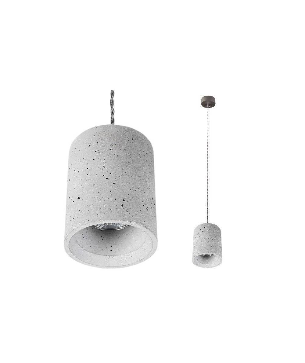 Nowodvorski - lampa betonowa wisząca SHY - 9391