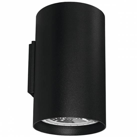 Nowodvorski - kinkiet TUBE Black - 9320