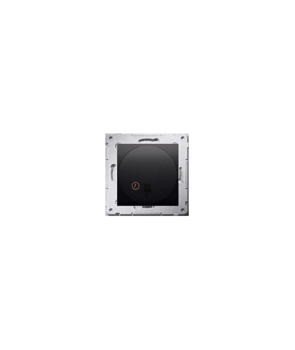 Simon54 – Łącznik Z Opóźnieniem Wyłączenia Antracyt, Metalizowany