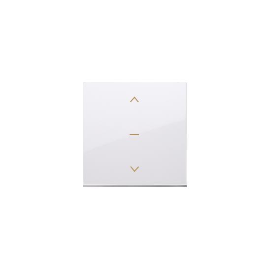 Simon 54 – Klawisze Do Łącznika Żaluzjowego Pojedyńczego Trójpozycyjnego 1-0-2 Biały