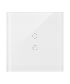 Simon54 – Panel Dotykowy 1 Moduł 2 Pola Dotykowe Pionowe, Biała Perła – DSTR13/70
